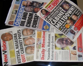Ugandan newspapers