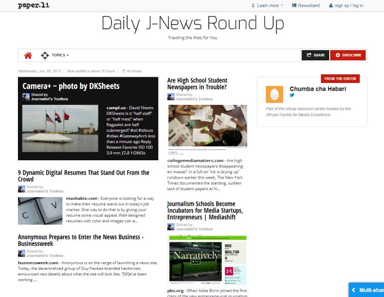 J-News Round Up 652013